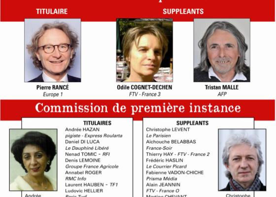 journalistes FO - élections commission de la carte
