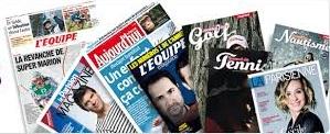 journaux amaury