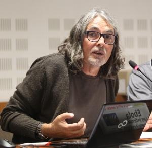Tristan Malle (Afp), secrétaire général du Syndicat général des journalistes FO