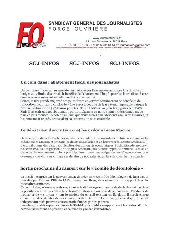 SGJ Infos p-1